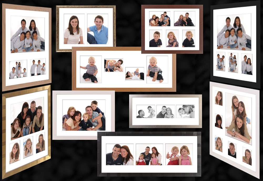 Framed portrait collections